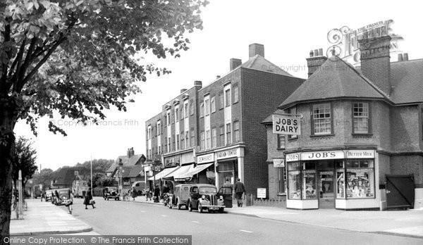 Photo of Ashford, Church Road 1954
