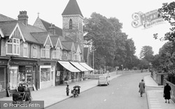 Ashford, Church Road 1954