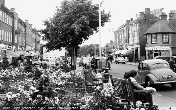 Photo of Ashford, Church Road 1962