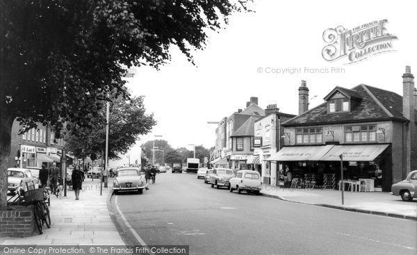 Photo of Ashford, Church Road 1965