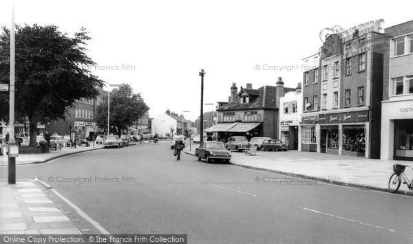 Photo of Ashford, Church Road 1965