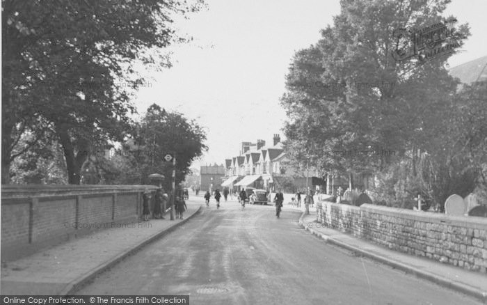 Photo of Ashford, Church Road c.1950