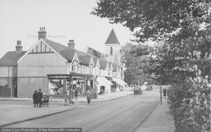 Photo of Ashford, Church Road c.1950