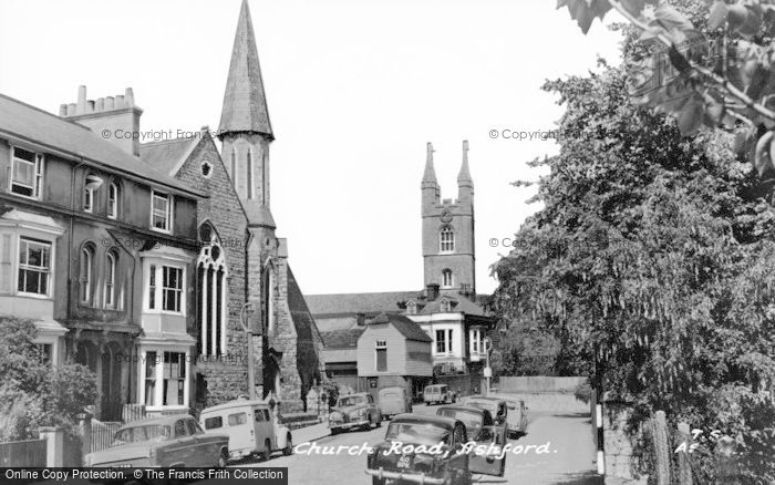 Photo of Ashford, Church Road c.1960