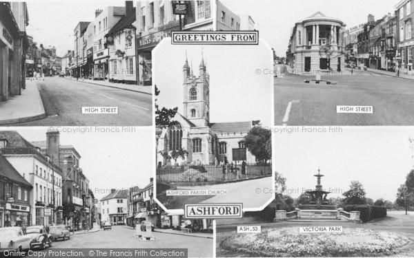 Photo of Ashford, Composite c.1965