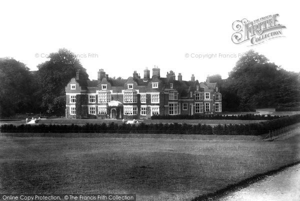 Photo of Ashford, Godinton House 1901