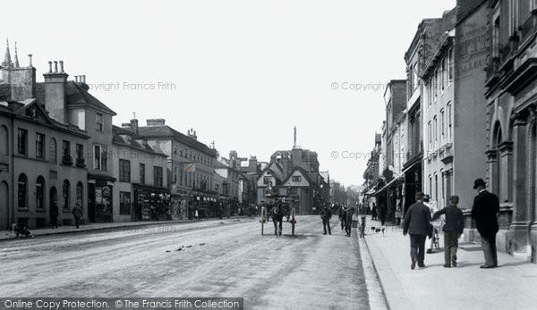 Photo of Ashford, High Street 1901