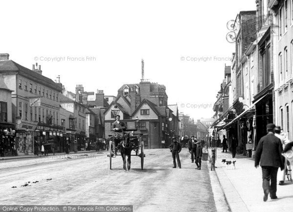Photo of Ashford, High Street 1901