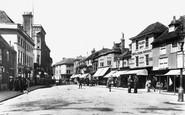 Ashford, High Street 1906