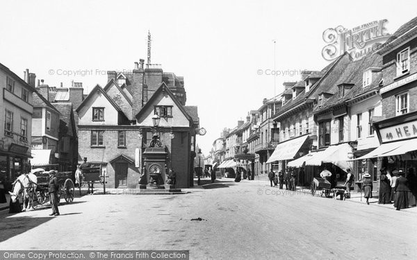 Photo of Ashford, High Street 1906