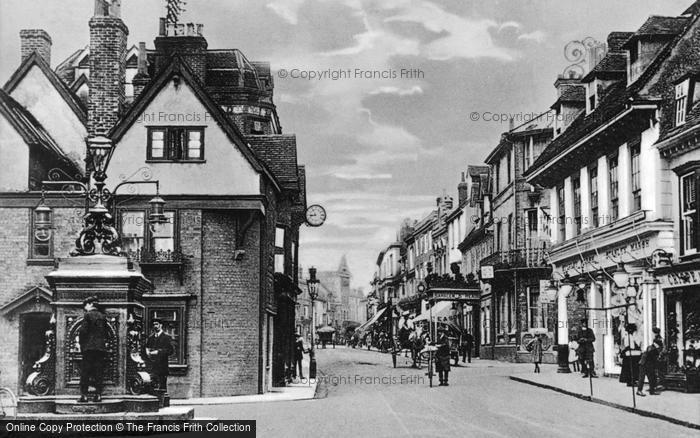 Photo of Ashford, High Street c.1910