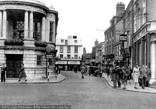 Photo of Ashford, High Street c.1950