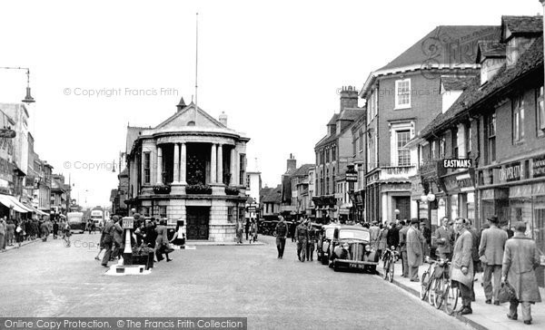 Photo of Ashford, High Street c.1950