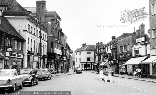 Photo of Ashford, High Street c.1960