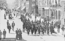 Ashford, High Street, Diamond Jubilee Celebration 1897
