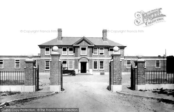 Photo of Ashford, Hospital 1928