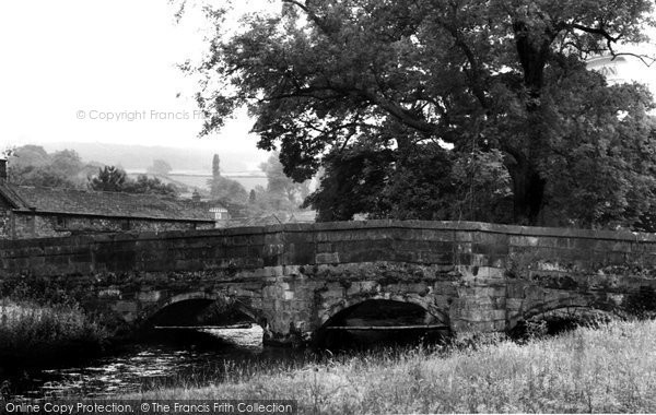 Ashford In The Water, Bridge c.1960