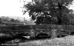 Ashford-In-The-Water, Bridge c.1960