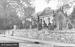 Ashford-In-The-Water, Holy Trinity Church c.1955