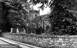 Ashford-In-The-Water, Holy Trinity Church c.1960
