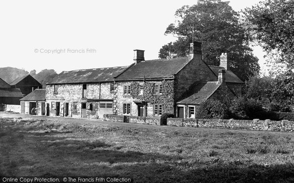Ashford-In-The-Water, the Mill c1955