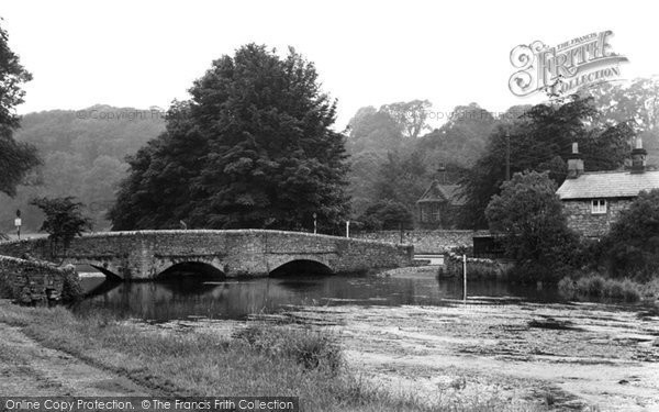 Photo of Ashford In The Water, The Sheepwash Bridge c.1960