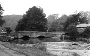 Ashford-In-The-Water, the Sheepwash Bridge c1955