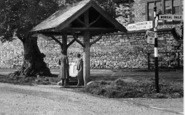 Ashford-In-The-Water, Top Pump c.1955