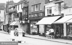 Ashford, International Stores, High Street c.1960