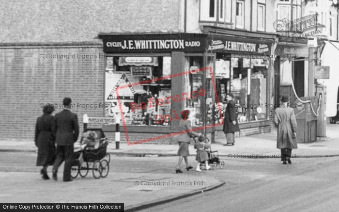 Photo of Ashford, 'j E Whittington' Cycles And Accessories c.1950