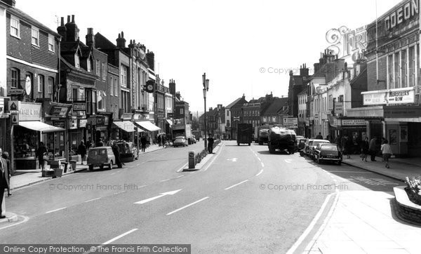 Photo of Ashford, Lower High Street c.1965