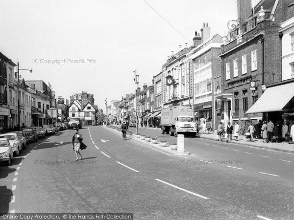 Photo of Ashford, Lower High Street c.1965