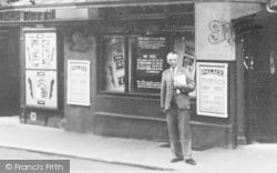 Ashford, Man At The Picture Palace c.1935