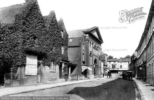 Photo of Ashford, Marsh Street 1903