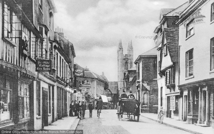 Photo of Ashford, North Street c.1910
