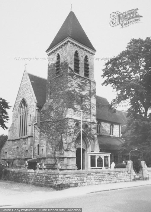 Photo of Ashford, Parish Church Of St Matthew 1962