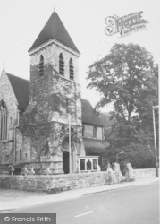Ashford, Parish Church Of St Matthew 1962