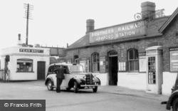 Ashford, Railway Station 1962