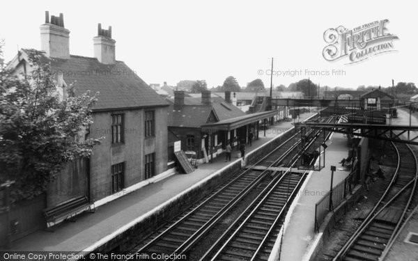 Photo of Ashford, Railway Station 1962