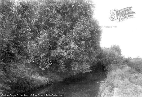 Photo of Ashford, River Stour 1901