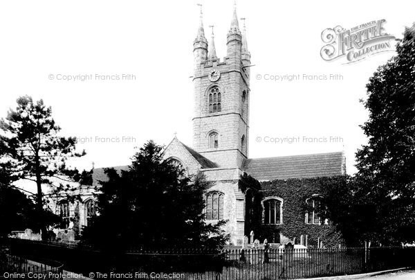 Photo of Ashford, St Mary's Church  1901