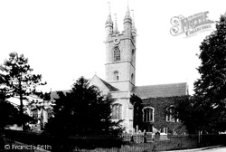 Ashford, St Mary's Church  1901