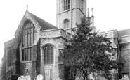 Ashford, St Mary's Church 1901