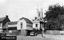 Ashford, St Mary's Church c.1955