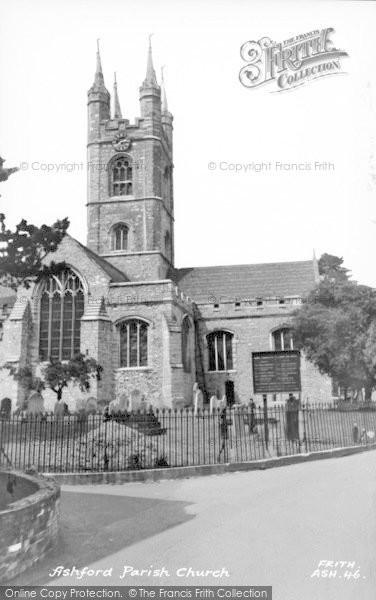 Photo of Ashford, St Mary's Church c.1960