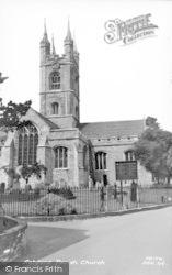 Ashford, St Mary's Church c.1960