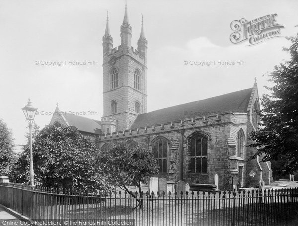 Photo of Ashford, St Mary's Church From The North West 1928