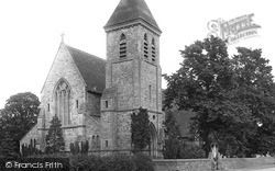 Ashford, St Matthew's Church 1895