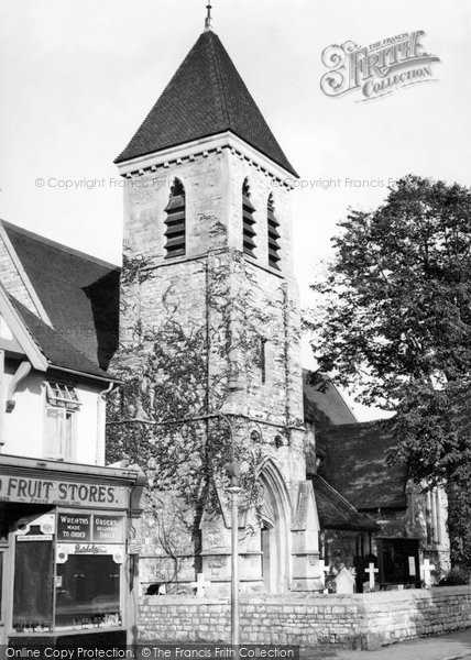Photo of Ashford, St Matthew's Church 1950