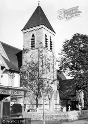 Ashford, St Matthew's Church 1950